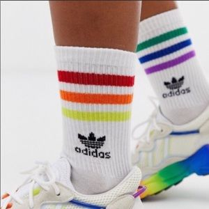 Adidas originals roller socks rainbow lgbtq